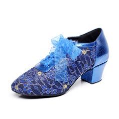 Donna Similpelle Tacchi Stiletto Prova Scarpe da ballo