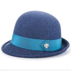 konstnärligt Ull Basker Hat