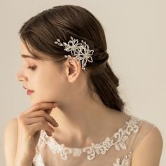 Damen Schöne Legierung Kämme und Haarspangen mit Venezianischen Perle (In Einem Stück Verkauft)
