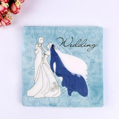 Happy Couple Design Dinner Napkins