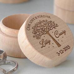 Simple/Elegant/Classic Ring Box in Wood