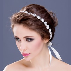 "Artistic Rhinestone/Silver Plated/""A"" Level Rhinestone Headbands"