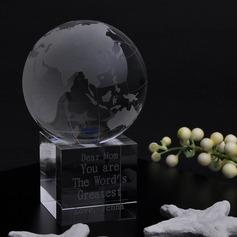 Personlig Globuser Crystal Minnesmerke