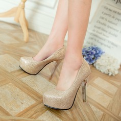 Women's Leatherette Stiletto Heel Pumps Platform Mary Jane With Others shoes
