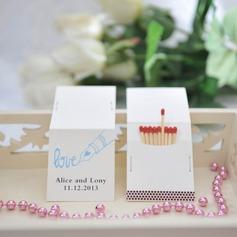 """personnalisé """"Amour"""" Carte papier épais (Lot de 50)"""