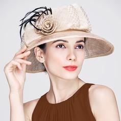 Senhoras Classic Primavera/Verão com Chapéu de Coco / Cloche de Chapéu