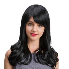 Vågig Human Hair Parykar