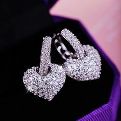 Vackra Och Zirkon Damer' Mode örhängen