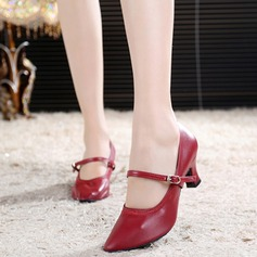 Women's Pumps Ballroom With Ankle Strap Dance Shoes