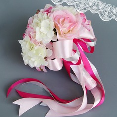 Gorgeous Hand-tied PE Bridal Bouquets (Sold in a single piece) - Bridal Bouquets