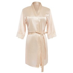 Charmeuse Bride Bridesmaid Blank Robes (248155100)