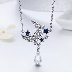Exquisite Imitation Pearls Silver Ladies' Fashion Necklace