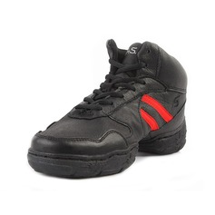 Mulheres Dos homens Couro verdadeiro Tênnis Treino Sapatos de dança