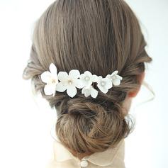 Abbigliamento donna Affascinante Strass/Di faux perla Pettine & clip di capelli Strass/Perla Veneziano (Venduto in un unico pezzo)