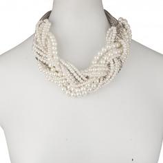 Elegant Fauxen Pärla Damer' Halsband