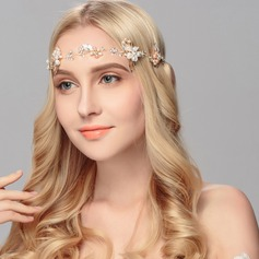 Maravilloso Aleación/La perla de faux Joyas Frente/Diademas (Se venden en una sola pieza)