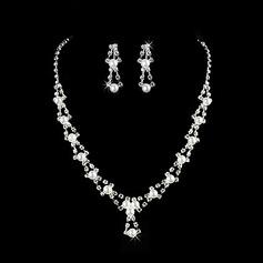 Gorgeous Legering/Pärla med Strass Damer' Smycken Sets