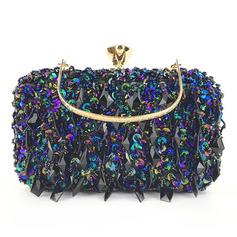 Elegant/Einzigartig/Glänzende Pailletten/Polyester Handtaschen (012221234)