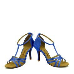 Mulheres Cetim Latino Sapatos de dança