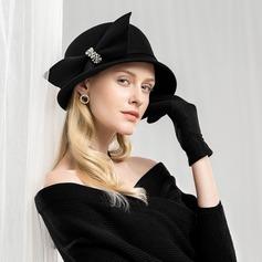 Damer' Hög Kvalitet/konstnärligt Ull Diskett Hat