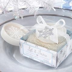 Floco de Neve Sabonetes com Fitas