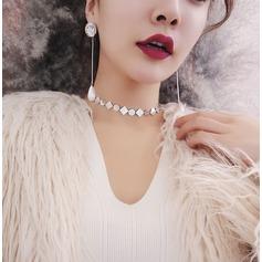 Unik koppar Kvinnor Mode Halsband