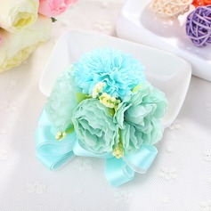 Comely Fabric Wrist Corsage -
