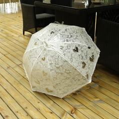 Classic Plastic/Lace/PVC Wedding Umbrellas