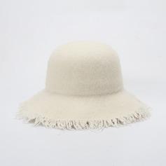женские великолепный/Мода Шерстяные флоппи-Шляпа