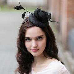 Dames Magnifique/Glamour/Élégante Batiste avec Feather Chapeaux de type fascinator