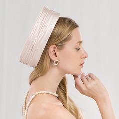 Dames Mode/Qualité/Romantique/Style Vintage Batiste Chapeaux de type fascinator