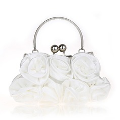Elegant Silke Grepp/Handledsväskor/Brudväska/Mode handväskor/Makeup Väskor/Lyx Bag