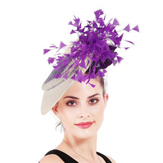 Signore Unico/Incredibile con Piuma Fascinators/Kentucky Derby Hats