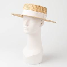 Casais ' Simples/Feito à mão Rattan de palha Chapéu de palha/Kentucky Derby Bonés