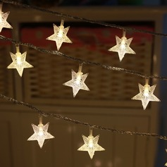 LED five-pointed star light(100 bulbs) for home decoration