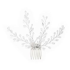 Filles Magnifique Cristal Des peignes et barrettes avec Cristal (Vendu dans une seule pièce)