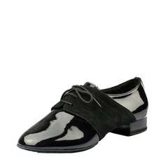 Hommes Vrai cuir Cuir verni Salle de bal Chaussures de danse