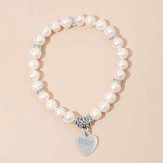 personnalisé D'enfant personnalisé Pearl Bracelets Amis/Demoiselle d'honneur