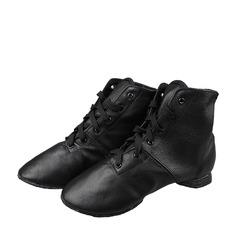 Unisex Cuero Jazz Zapatos de danza