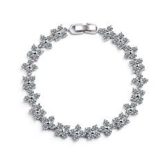 Brillant Zircon de/Platine plaqué Dames Bracelets