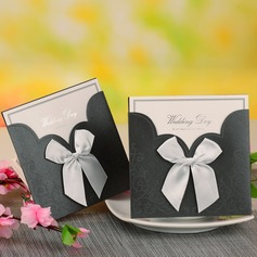 Bride & Groom Estilo e do bolso Invitation Cards com Arcos (conjunto de 12)