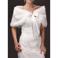 Pelliccia ecologica Matrimonio Coprispalle (013108429)