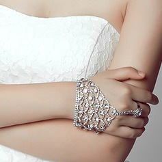 Attractive Alloy/Rhinestones With Rhinestone Ladies' Bracelets