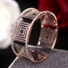Unique Alloy With Rhinestone Zircon Women's Fashion Bracelets