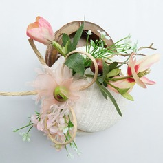 Dames Fil net Chapeaux de type fascinator