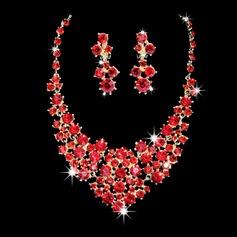 Luminoso Liga/Strass Senhoras Conjuntos de jóias