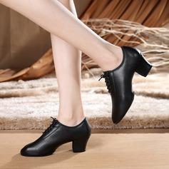 De mujer Piel Tacones Danza latina Estilo Moderno Jazz Zapatos de danza