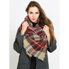 Color Block attractive/Cold weather Acrylic Scarf (204191664)
