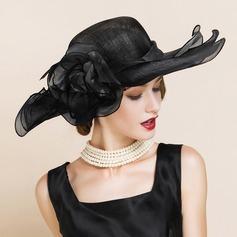 Ladies' Gorgeous/Glamourous/Elegant/Eye-catching Cambric Beach/Sun Hats