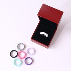 Unique Silicone Women's Fashion Rings (Sold in a single piece)